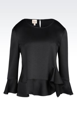 Armani Blouses Women blouse in envers satin