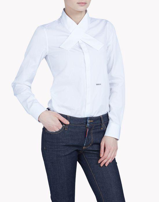 kimono collar shirt shirts Woman Dsquared2