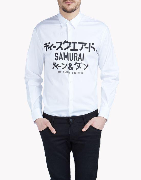 samurai relax dan shirt shirts Man Dsquared2