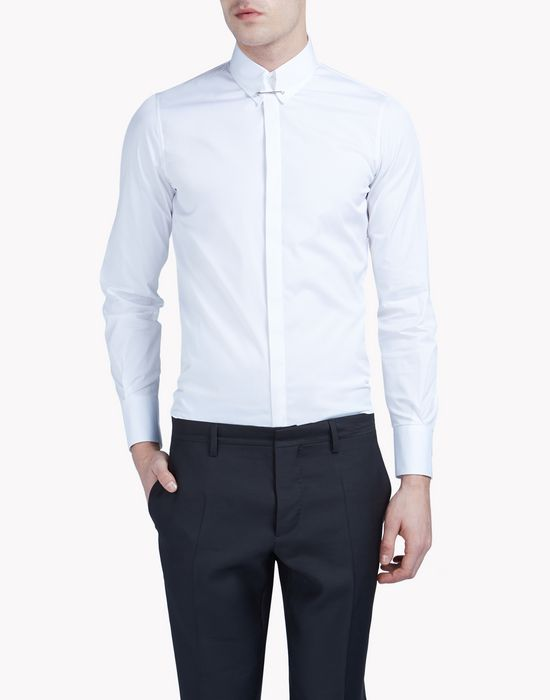 pin collar shirt chemises Homme Dsquared2