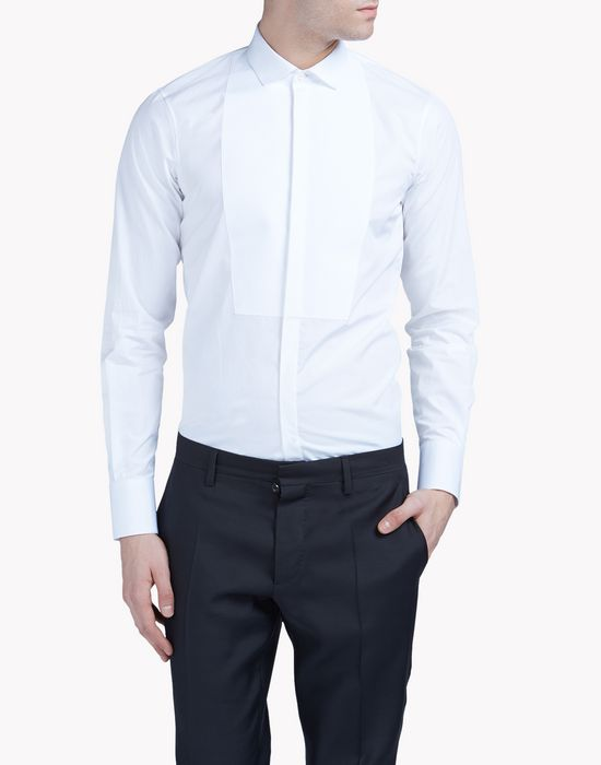 mini dean collar shirt shirts Man Dsquared2