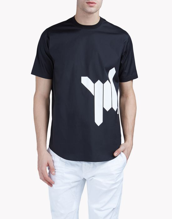 babewire popeline t-shirt shirts Man Dsquared2