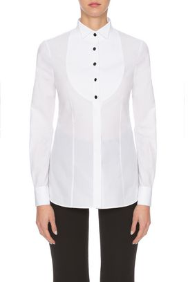 Armani Shirts Women cotton dinner shirt