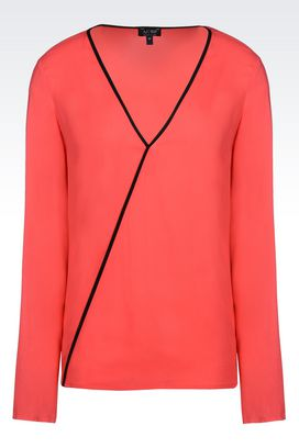 Armani Blouses Women viscose blouse
