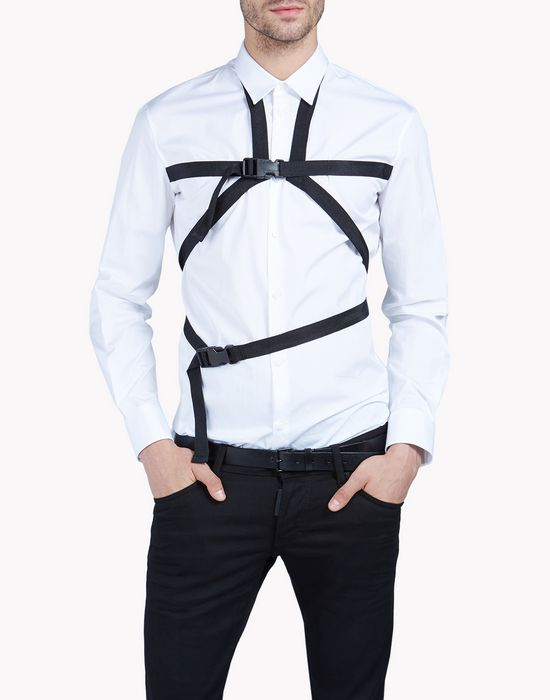parachute harness shirt shirts Man Dsquared2