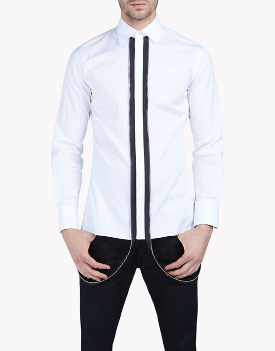 punk dean collar shirt shirts Man Dsquared2