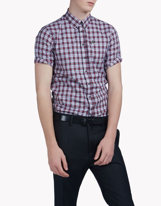 sexy button down shirt camisas Hombre Dsquared2