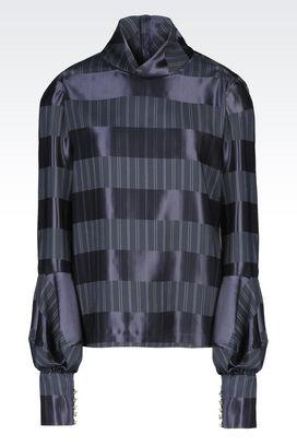 Armani Shirts Women blouse in viscose blend