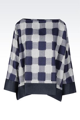 Armani Shirts Women blouse in twill