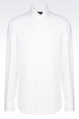 Armani Shirts Men cotton shirt