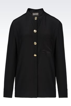 Armani Shirts Women blouse in silk