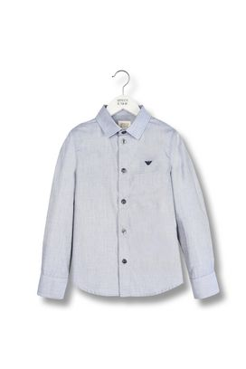 Armani Long sleeve shirts Men long-sleeved woven cotton shirt