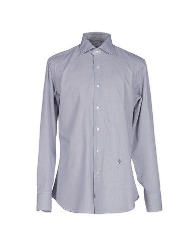 BALLANTYNE メンズ シャツ グレー 38 コットン 100%