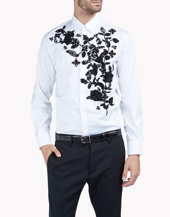 punk diamond relax dan shirt shirts Man Dsquared2