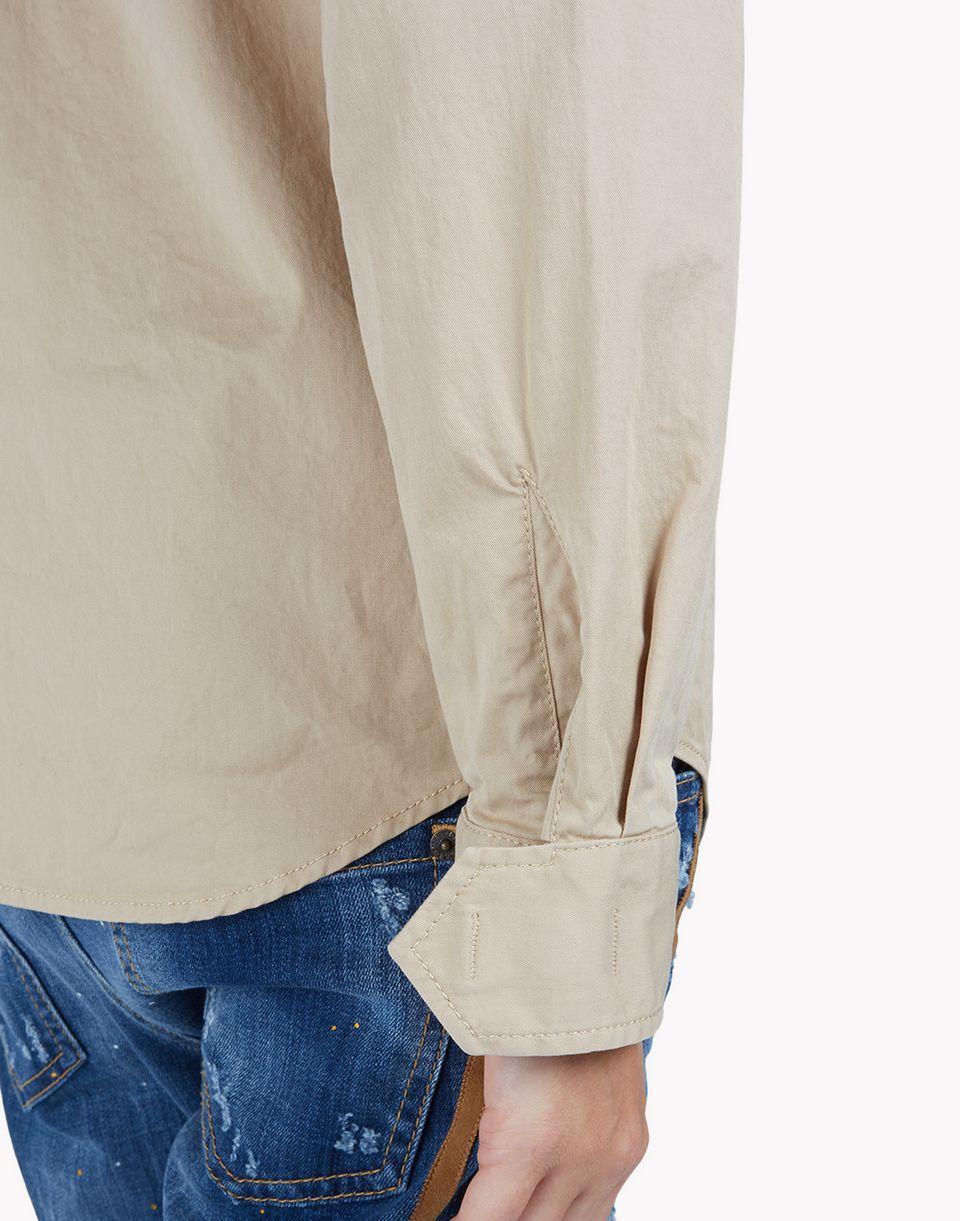 military shirt shirts Woman Dsquared2
