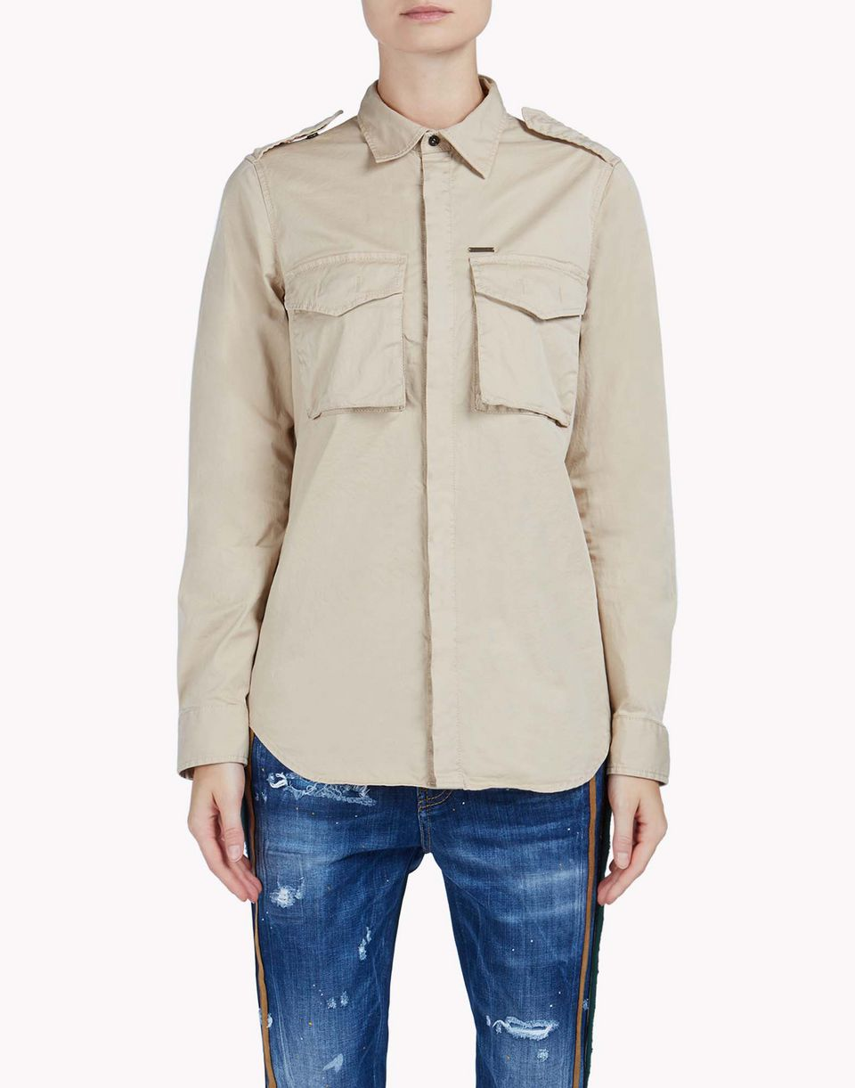 military shirt shirts Woman Dsquared2