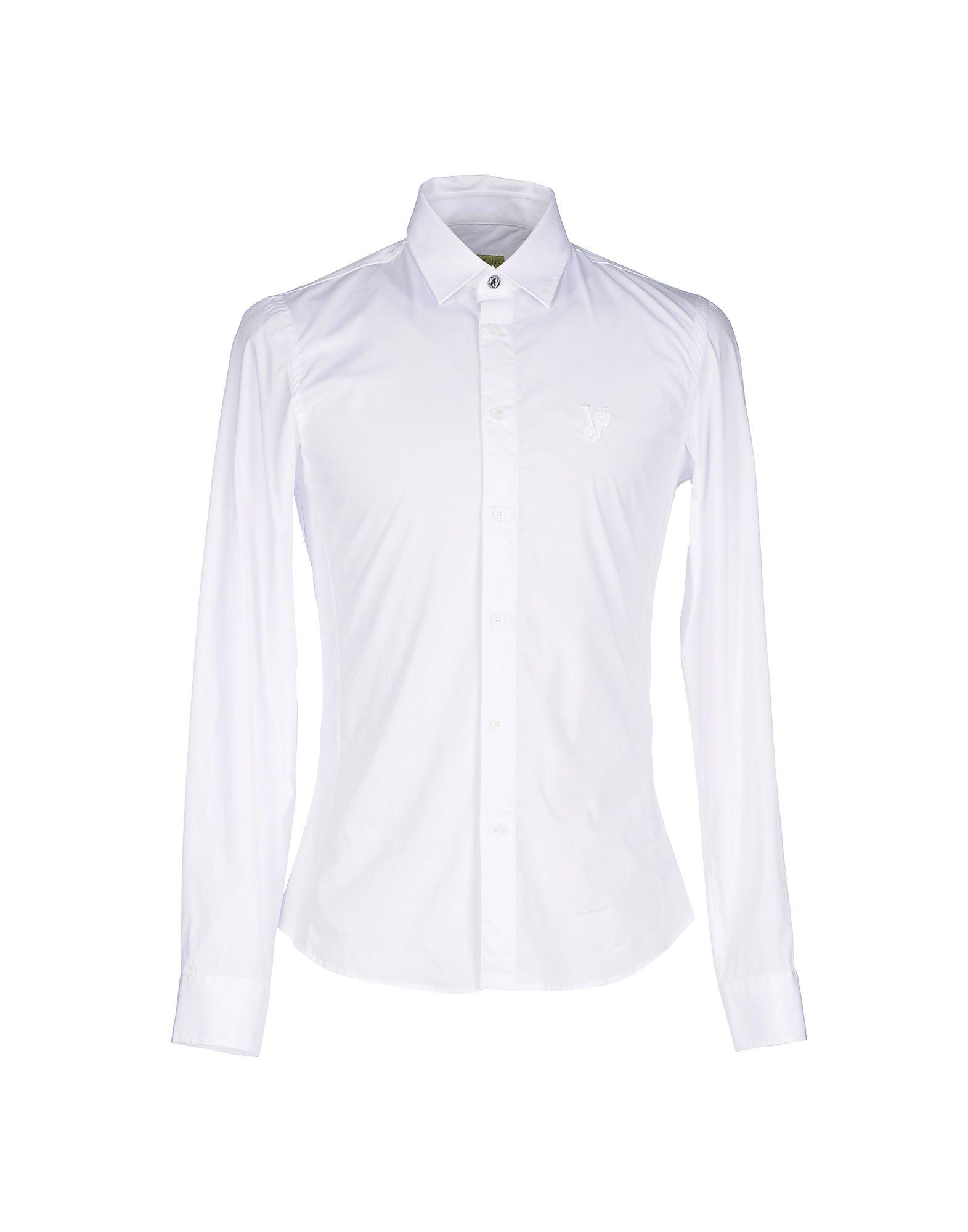 VERSACE JEANS Herren Hemd Farbe Weiß Größe 3
