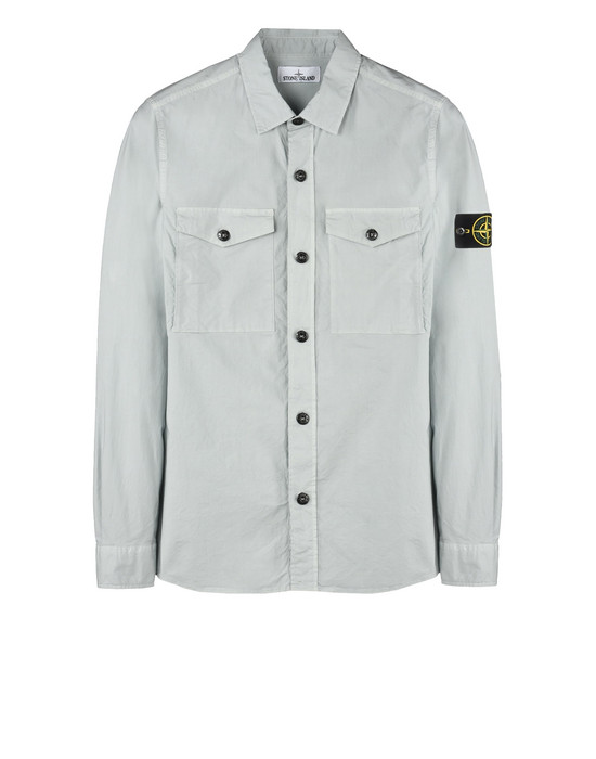STONE ISLAND Long sleeve shirt 10503 TELA PARACADUTE STRETCH