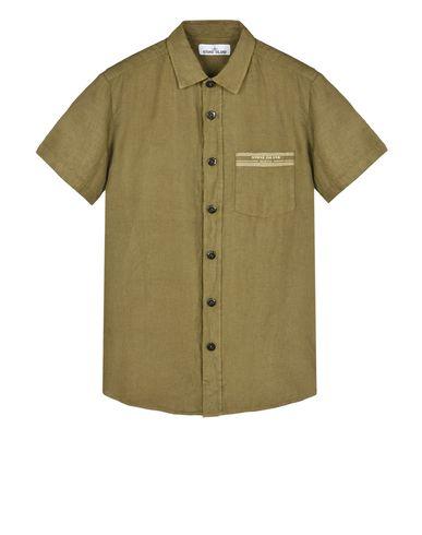STONE ISLAND Short sleeve shirt 122XA STONE ISLAND MARINA