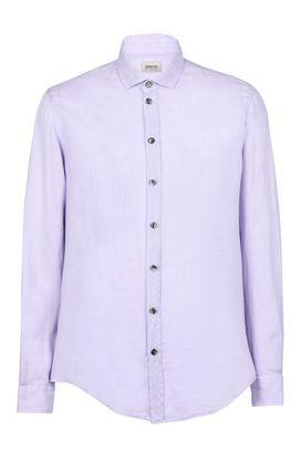 Armani Long sleeve shirts Men linen shirt
