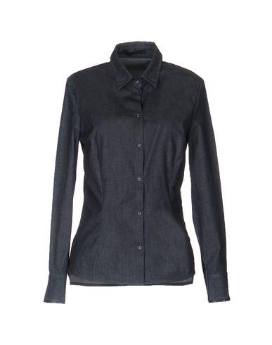 Джинсовая рубашка BLUE LES COPAINS 38592498ST