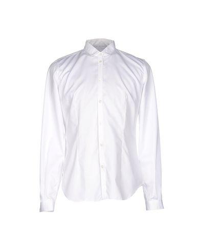 M.GRIFONI DENIM メンズ シャツ ホワイト 48 コットン 100%