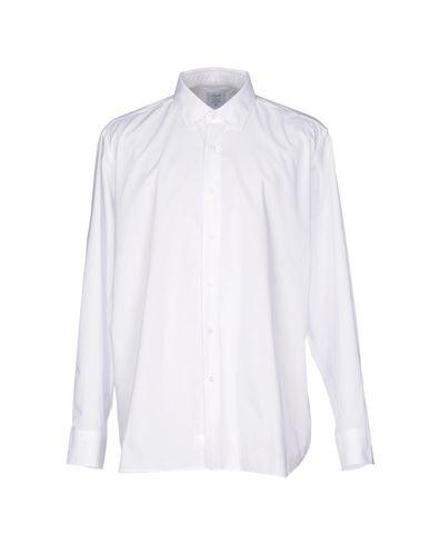 AGHO メンズ シャツ ホワイト 48 コットン 100%