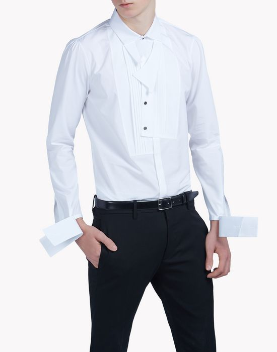 cotton bib shirt shirts Man Dsquared2