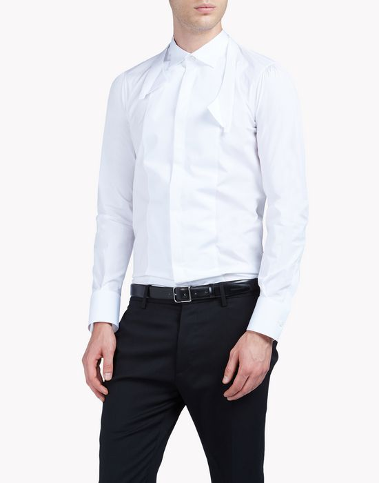 slim-fit stretch poplin shirt shirts Man Dsquared2