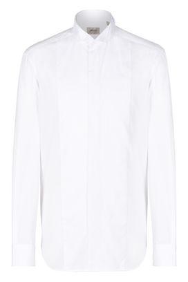Armani Camicie maniche lunghe Uomo camicia smoking collo diplomatico
