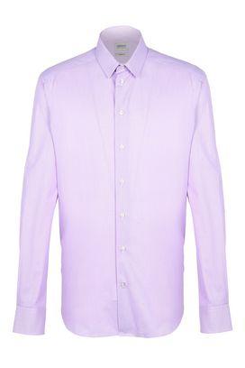 Armani Camicie maniche lunghe Uomo camicia 100% cotone micro check