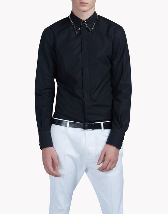 studded poplin shirt shirts Man Dsquared2