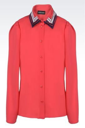 Armani Chemises manches longues Femme chemises