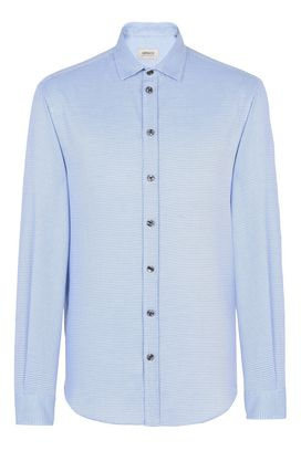 Armani Long sleeve shirts Men cotton jacquard shirt