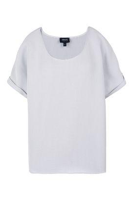 Armani Blouses Women short sleeve jacquard blouse