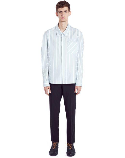 "lanvin ""big stripes"" shirt men"