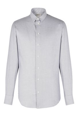 Armani Long sleeve shirts Men 100% micro woven cotton shirt