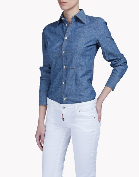 button down shirt shirts Woman Dsquared2