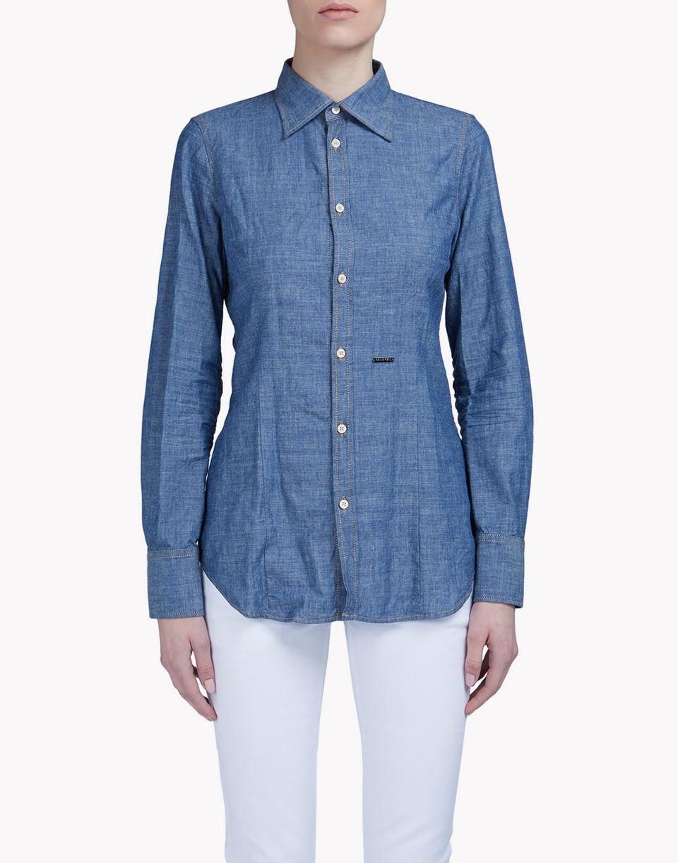 button down shirt shirts Woman Dsquared2