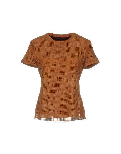 Блузка STOULS. Цвет: коричневый