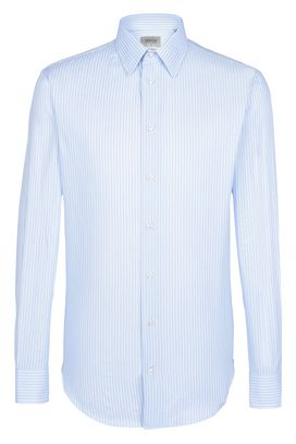 Armani Long sleeve shirts Men striped woven cotton shirt