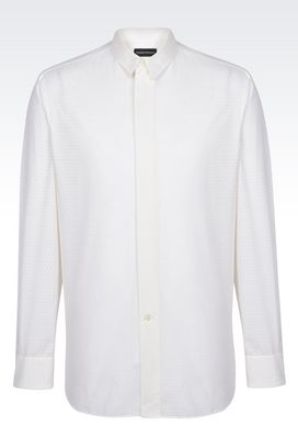 Emporio Armani Long Sleeve Shirts for Men - Armani.com