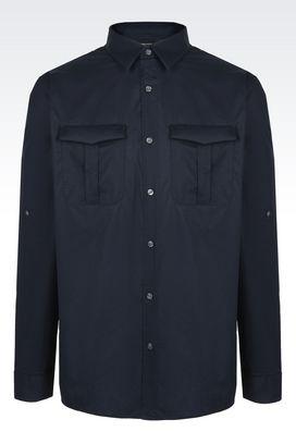 Armani Camicie maniche lunghe Uomo camicie