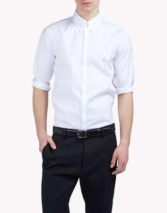 poplin pin shirt camisas Hombre Dsquared2