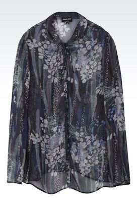 Armani Shirts Women pure silk shirt