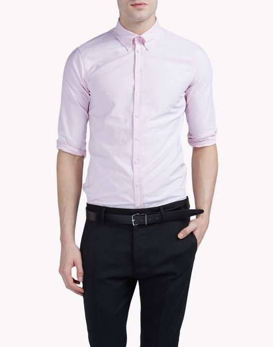 cotton shirt camisas Hombre Dsquared2