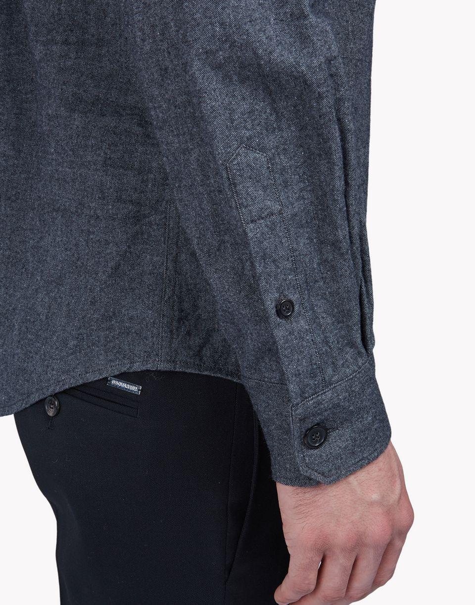western cotton-flannel shirt shirts Man Dsquared2