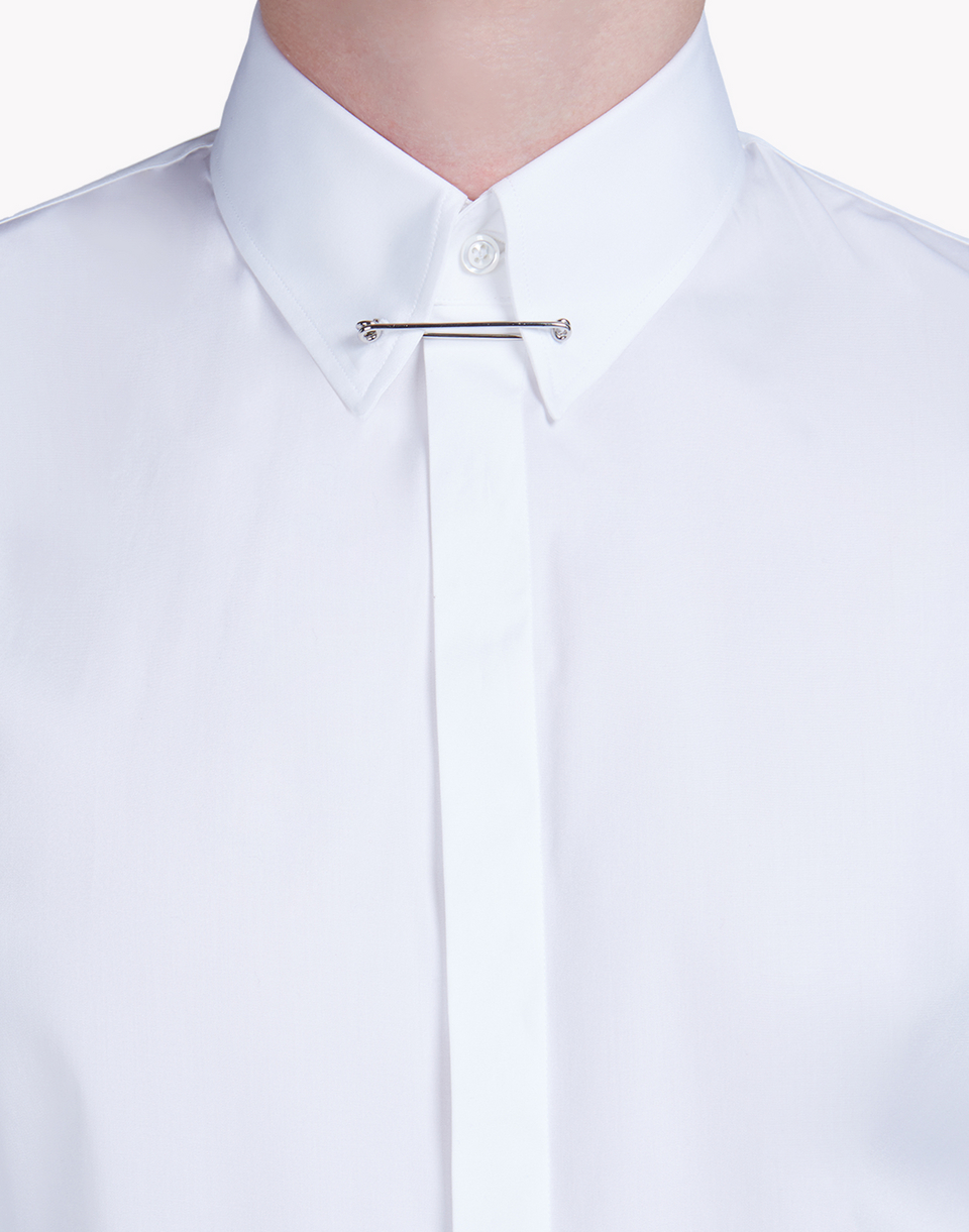 pinned collar poplin shirt shirts Man Dsquared2