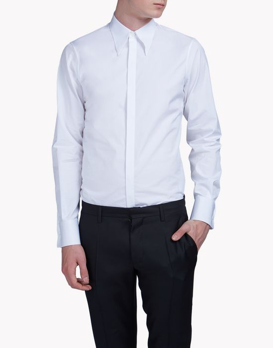 long-point collar slim-fit tux shirt shirts Man Dsquared2