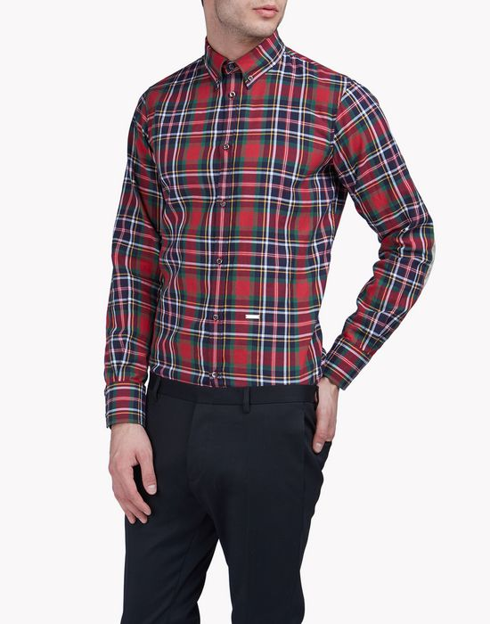 check shirt shirts Man Dsquared2